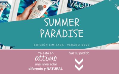 Summer Paradise de Vagheggi, una línea solar diferente y NATURAL