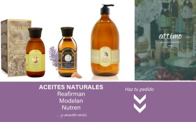 ACEITES NATURALES THALISSI: reafirman, modelan y nutren tu piel