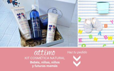 KIT DE COSMÉTICA NATURAL para bebés, niñas, niños y embarazadas